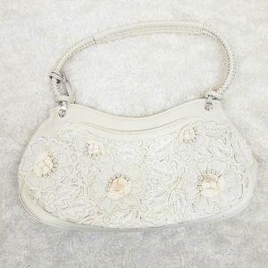 Vintage Brighton white purse